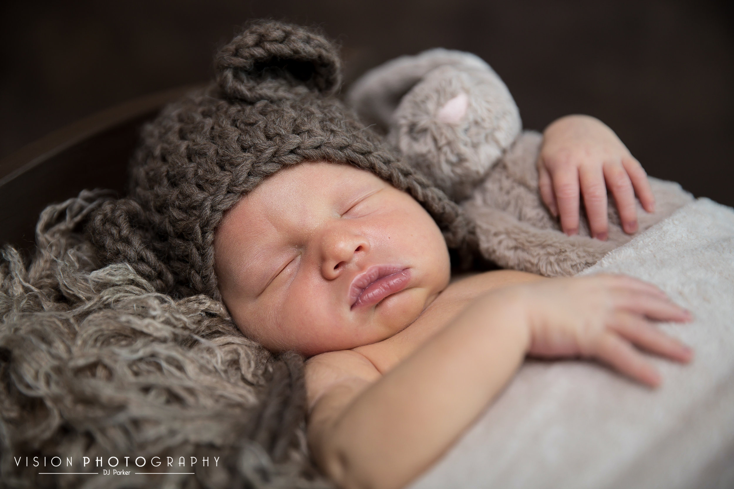 Newborn studio photography prop