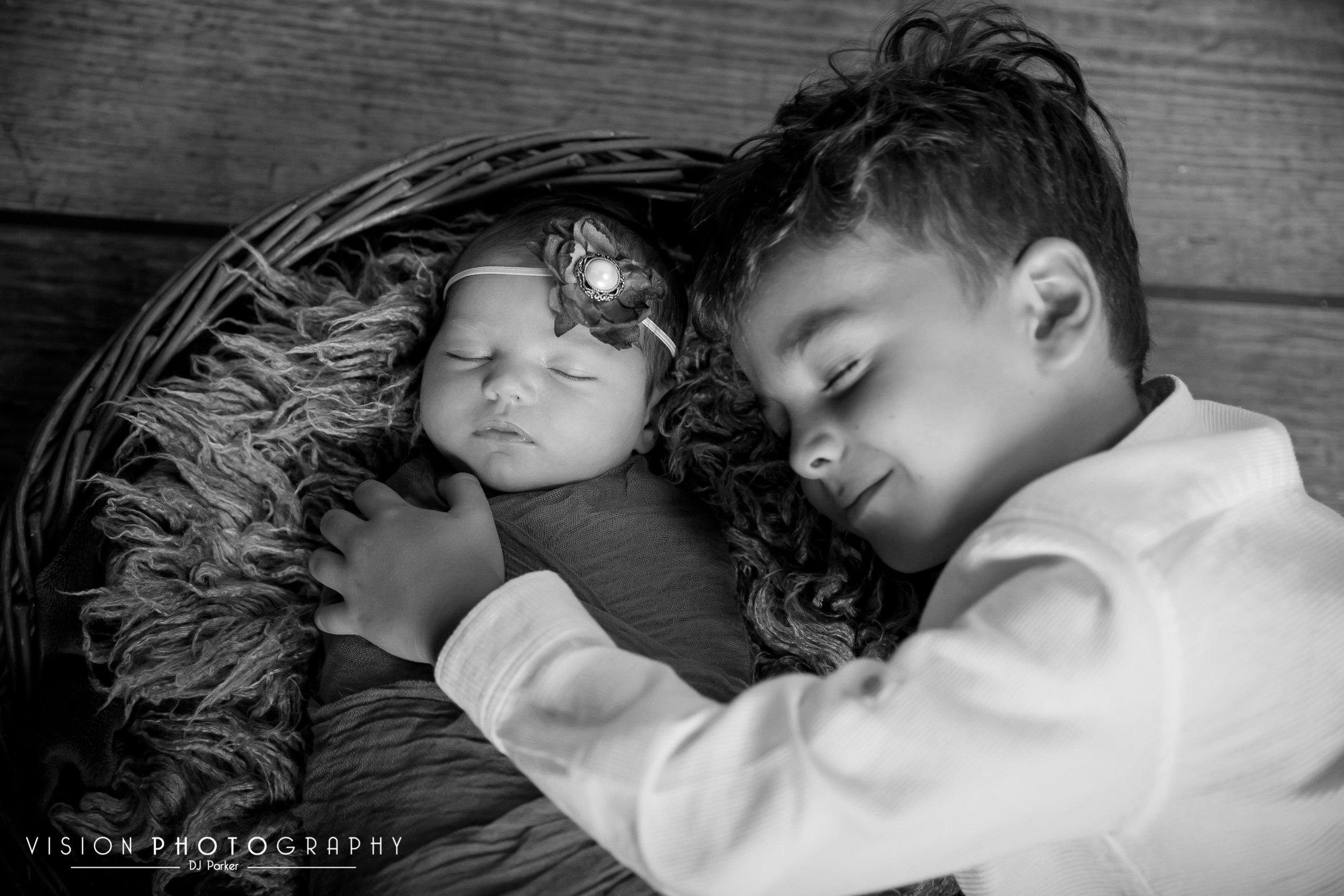 Newborn studio photography prop