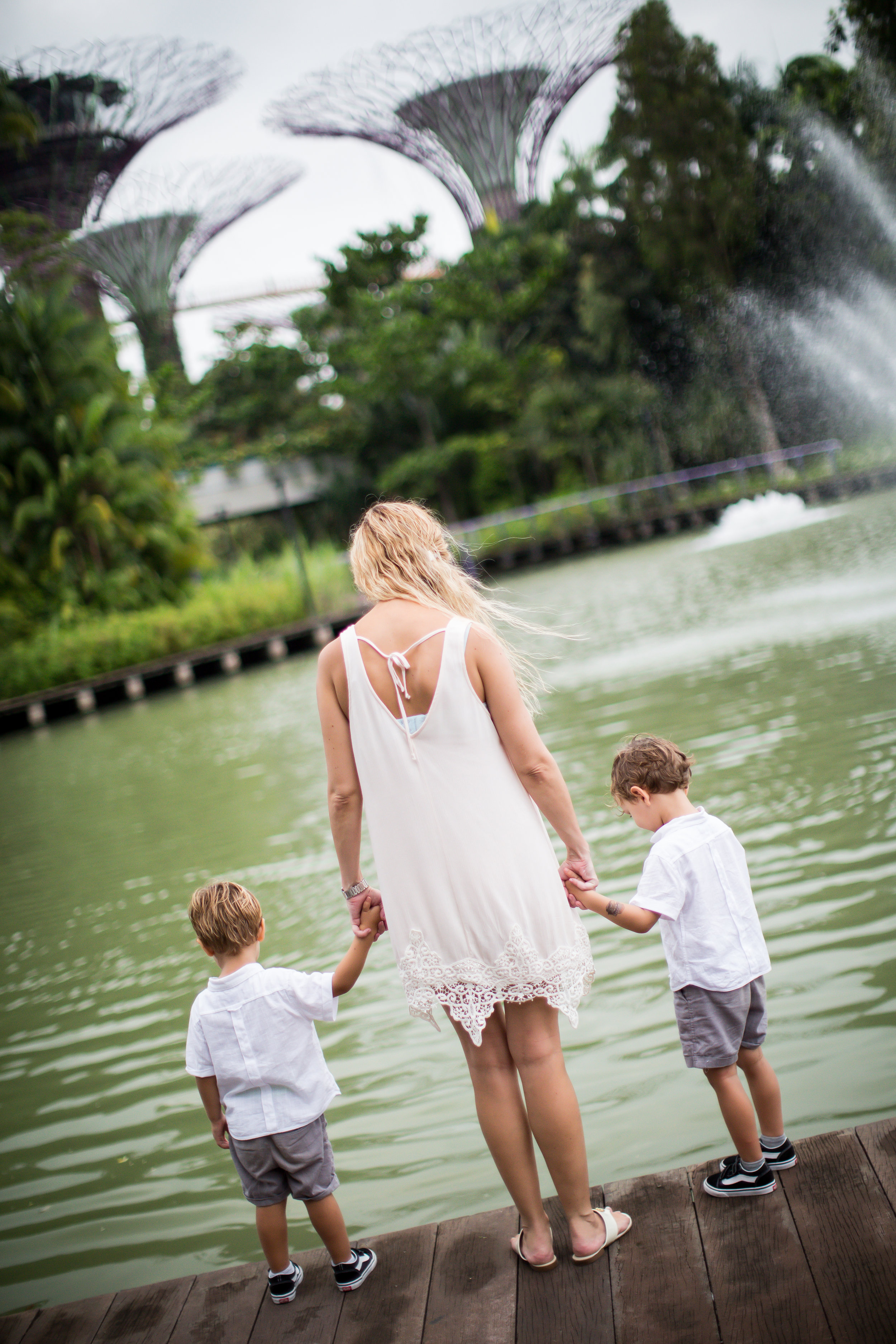 Family Shoot Gardens By The Bay Singapore Vision Photography