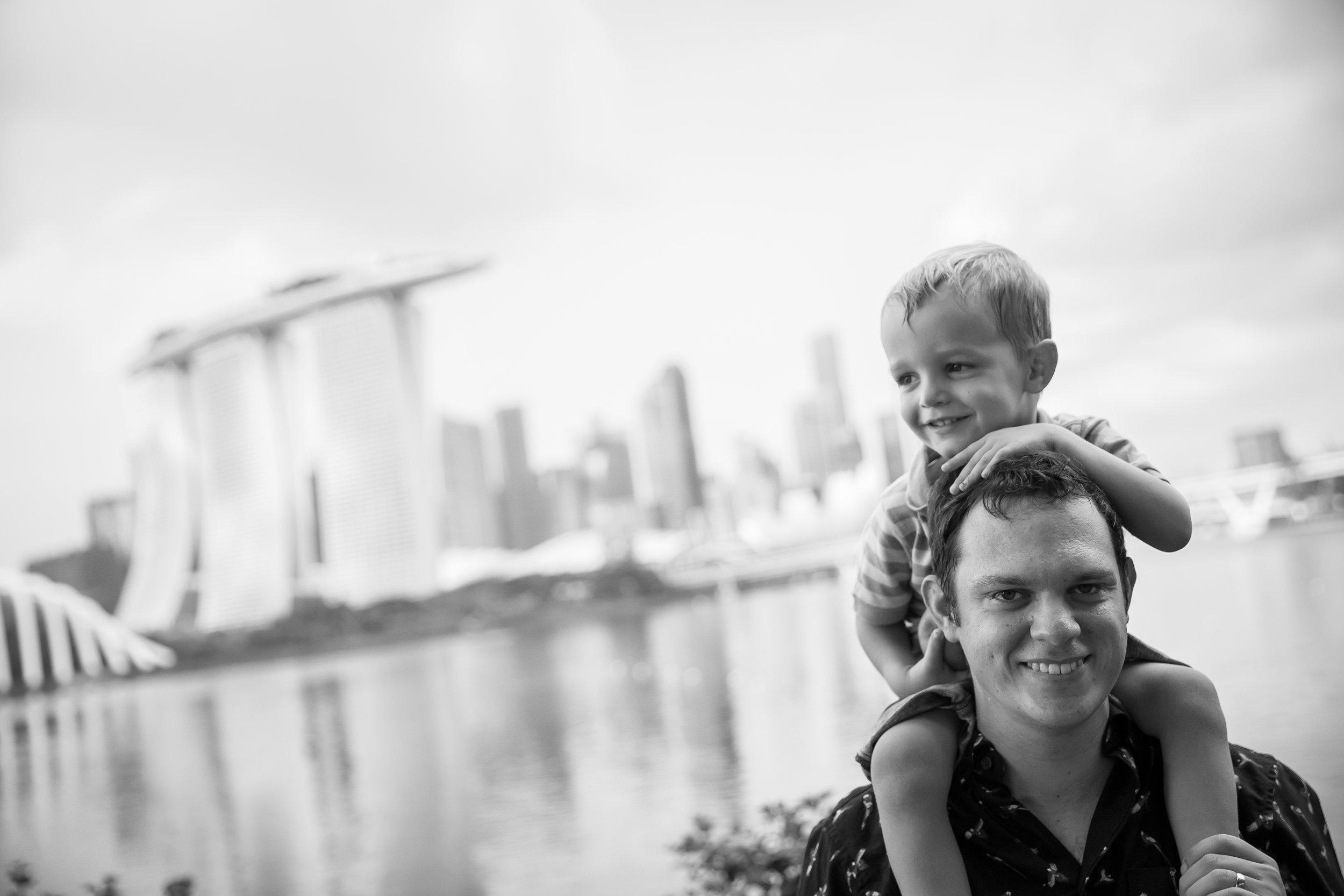 Singapore Family photographer Marina Bay Vision Photography