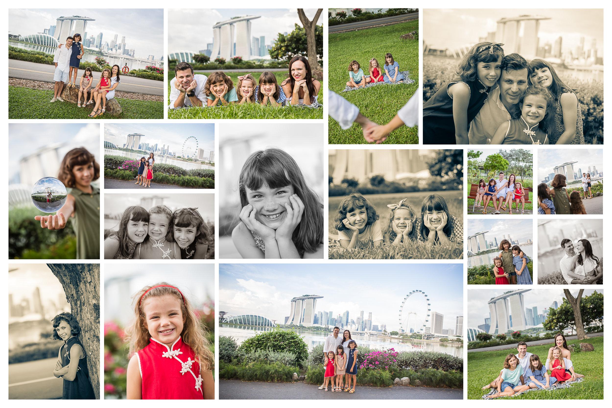 Singapore Skyline Family Photo Shoot GBTB Vision Photography