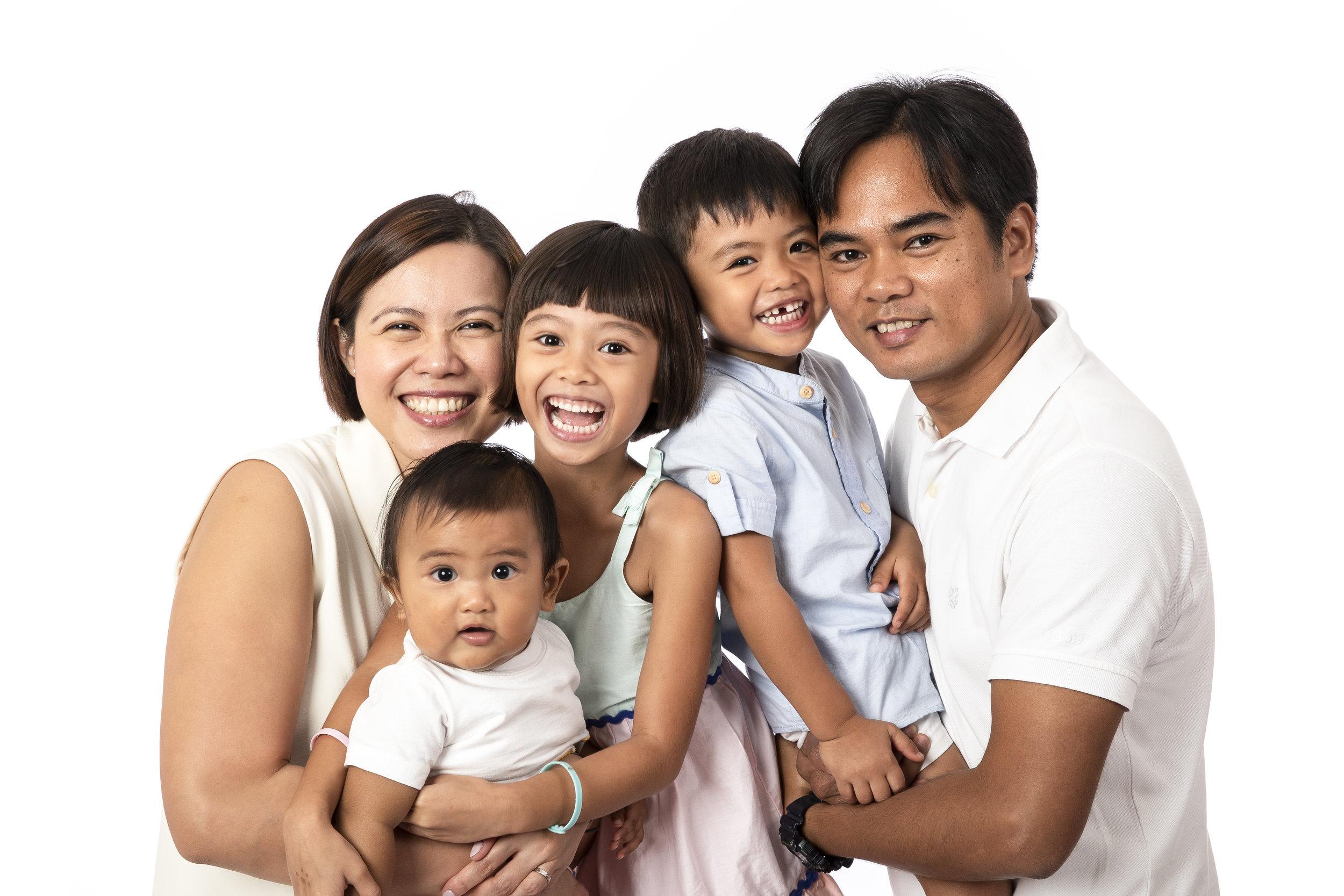 Singapore Family Photo Shoot Studio Vision Photography Daniel Parker