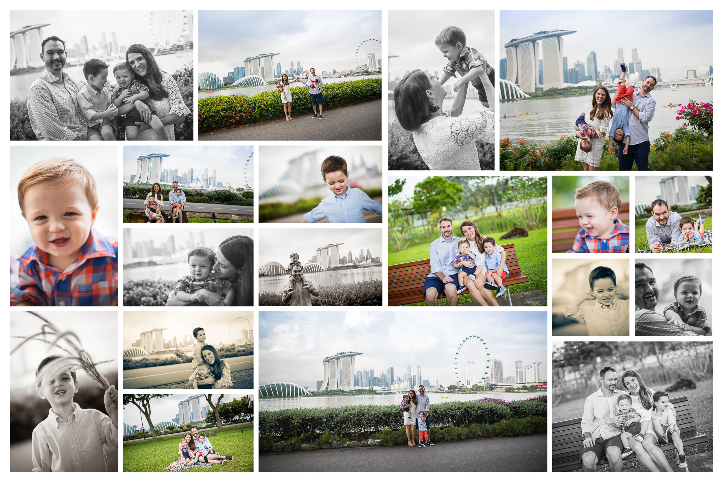 Singapore Family photographer Marina Bay Vision Photography