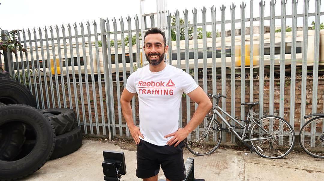Diego Fernandez, 36. Lives - Brixton. Occupation - finance.Goal - to clean and jerk 100kg.