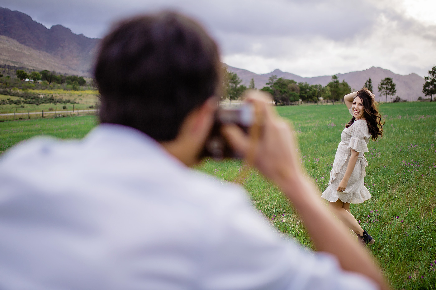 Karoo Engagement Shoot - Paul & Lustine