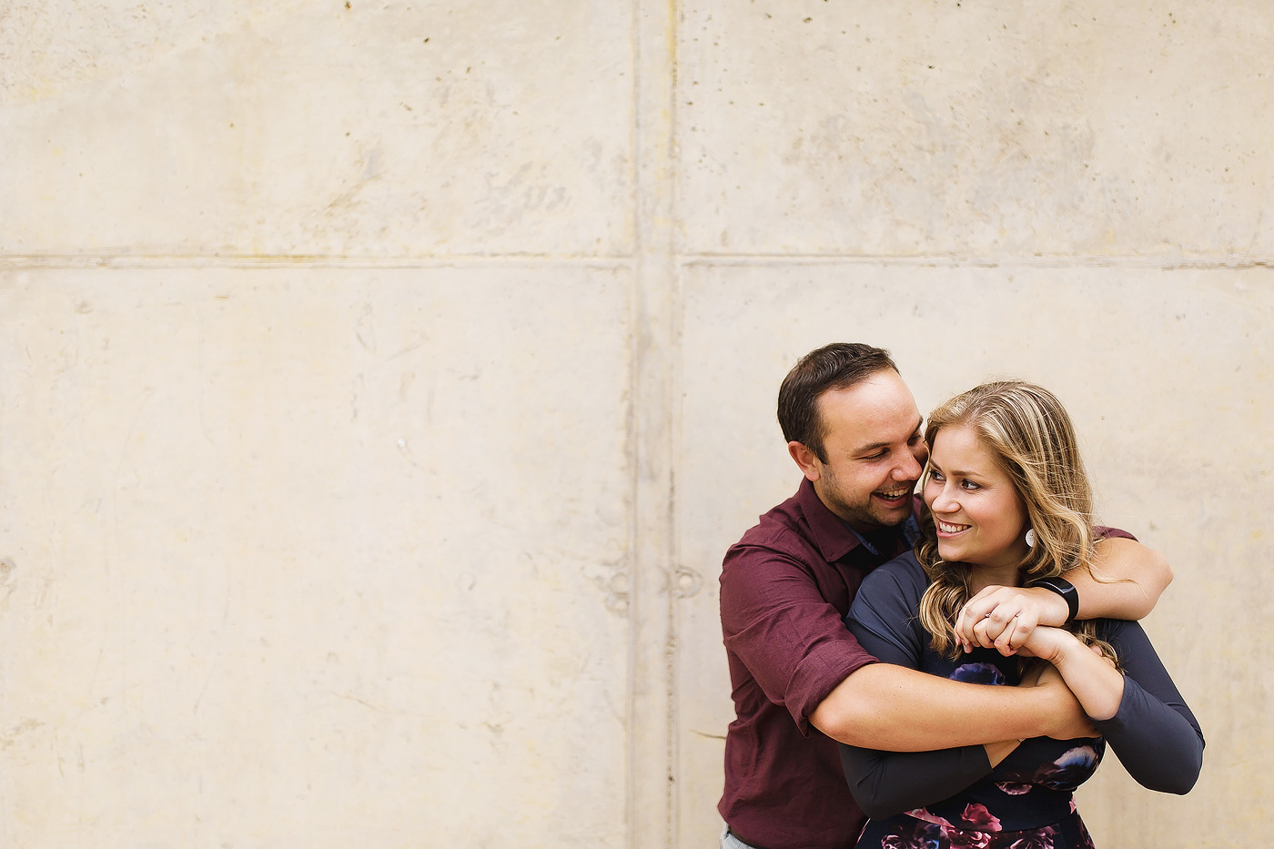 Urban Engagement Shoot - Ernie & Caro