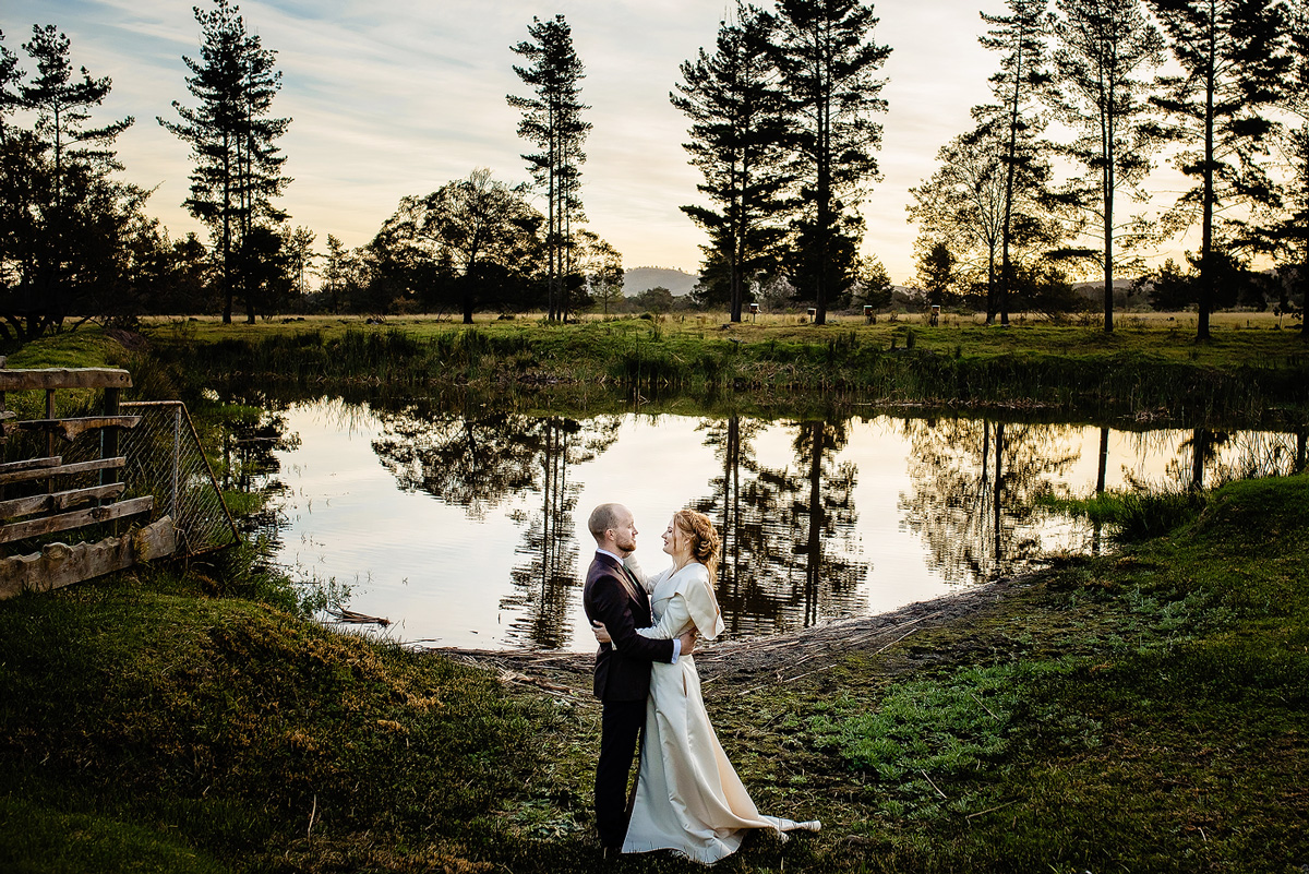 Natural Wedding Portraits Outdoors
