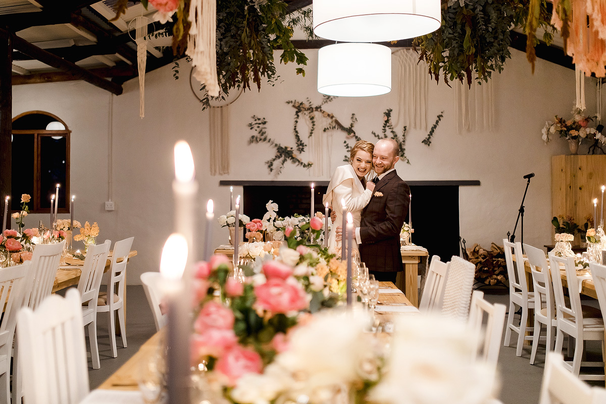 Exquisite wedding decor details