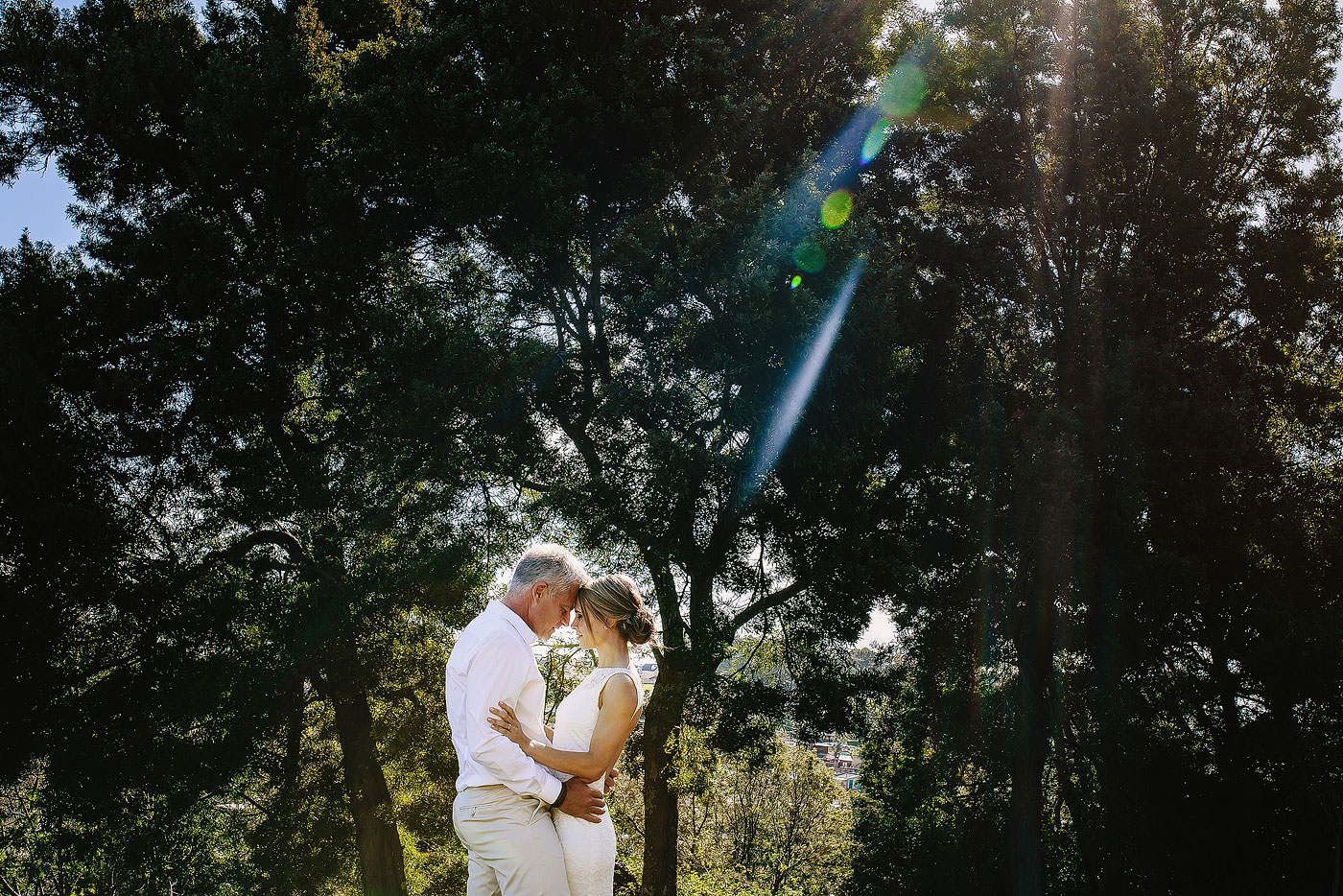 Forest Anniversary Wedding Portraits