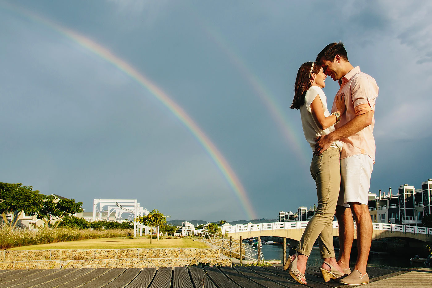 Rainbow Engagement Photo's