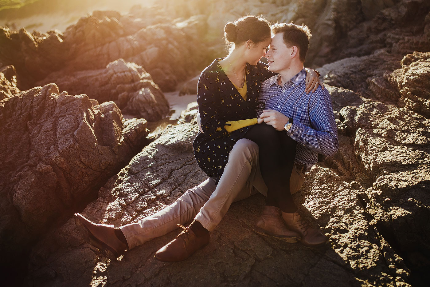 Beach Engagement shoot south africa