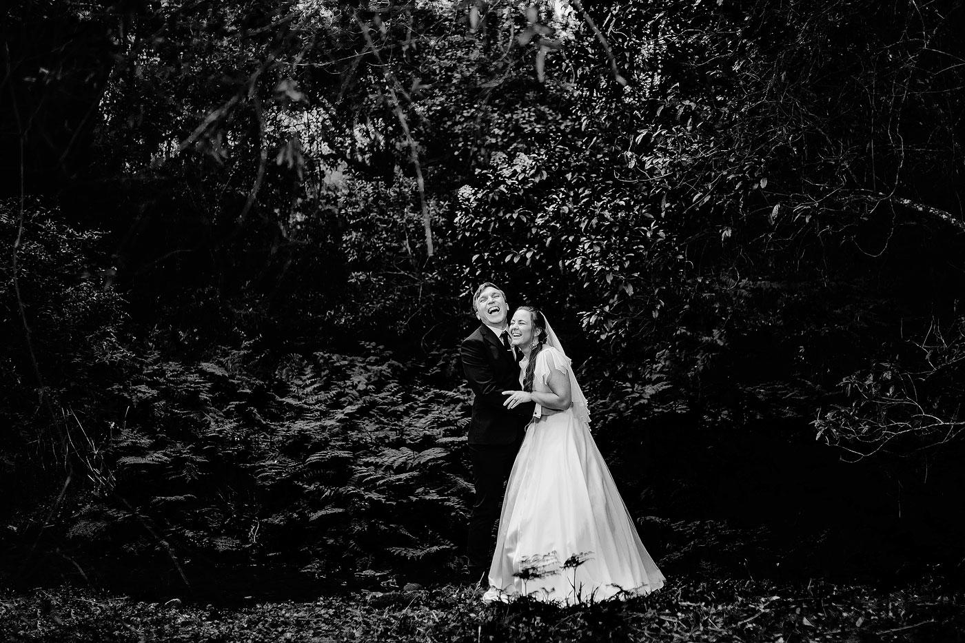 Forest Wedding Couple Shootq