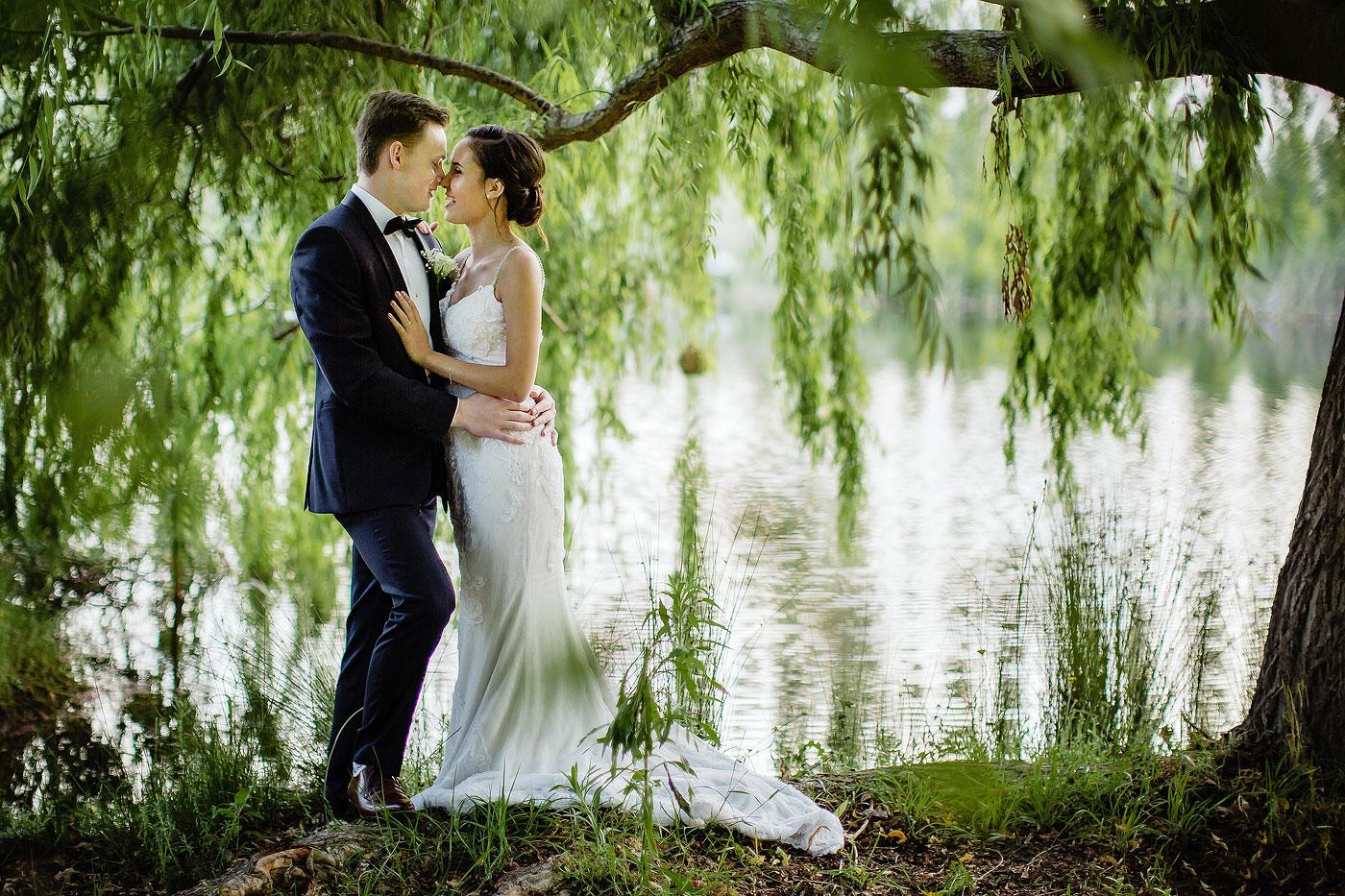 Classic, Elegant Wedding Portrait