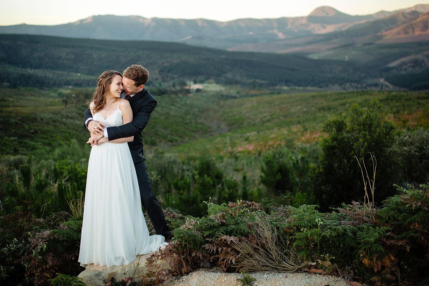 Big Landscape Wedding Photo