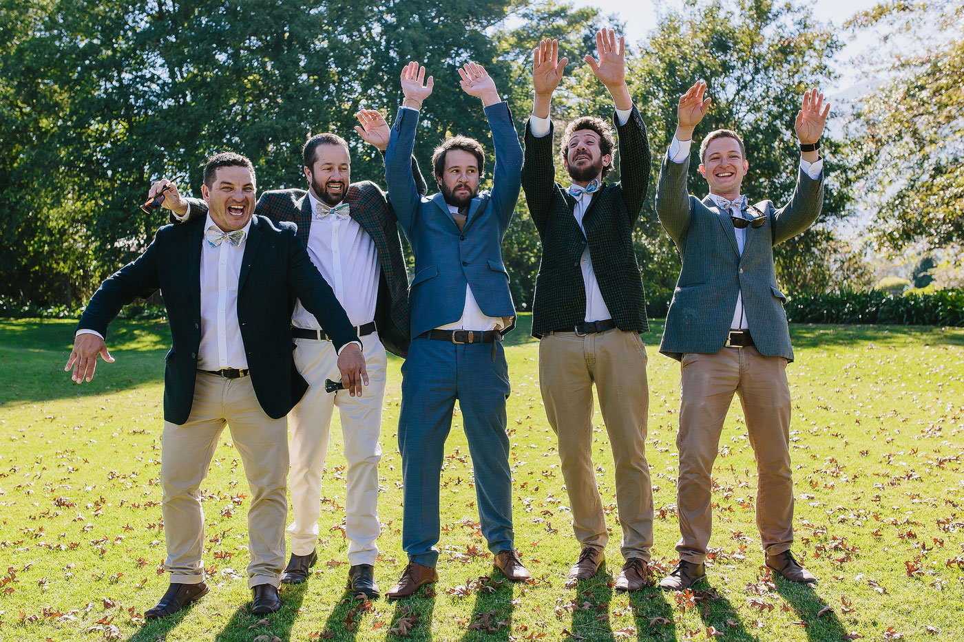 Funny Groomsmen Photo Idea