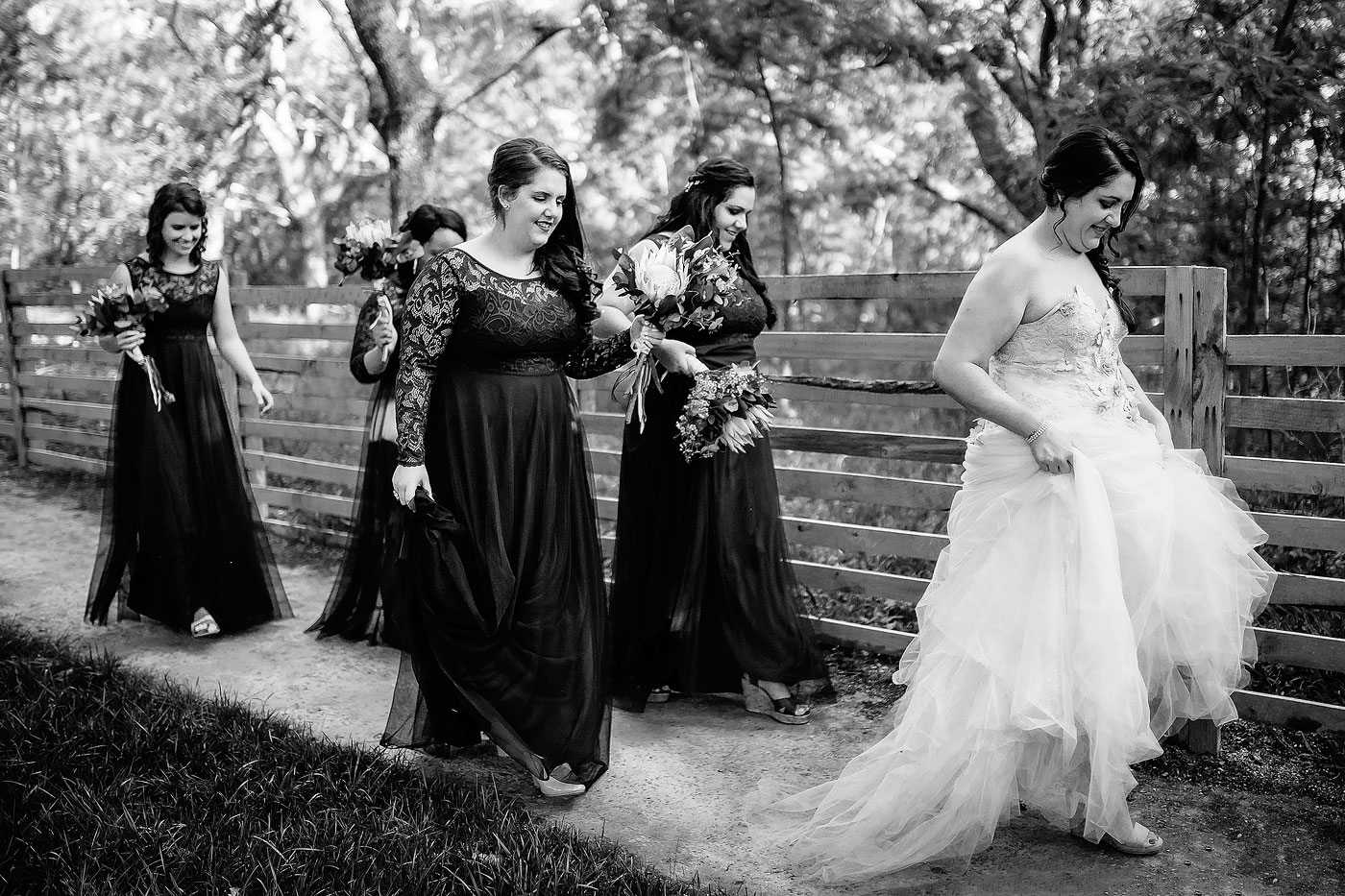 Bridesmaids Wedding Moment