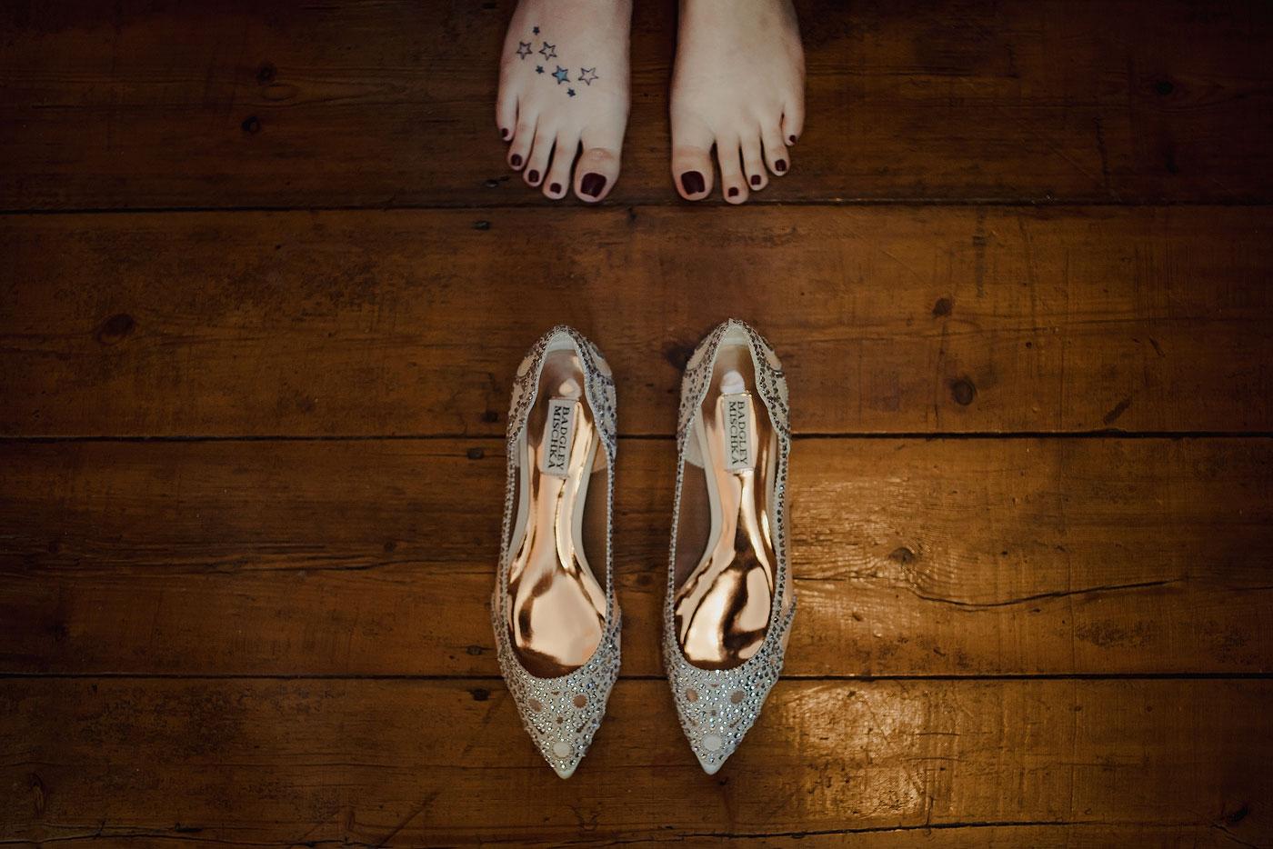 Elegant Bride Wedding Shoes