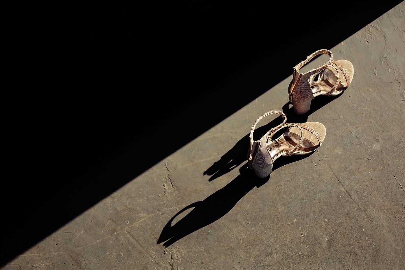 Creative Wedding Bride Shoes