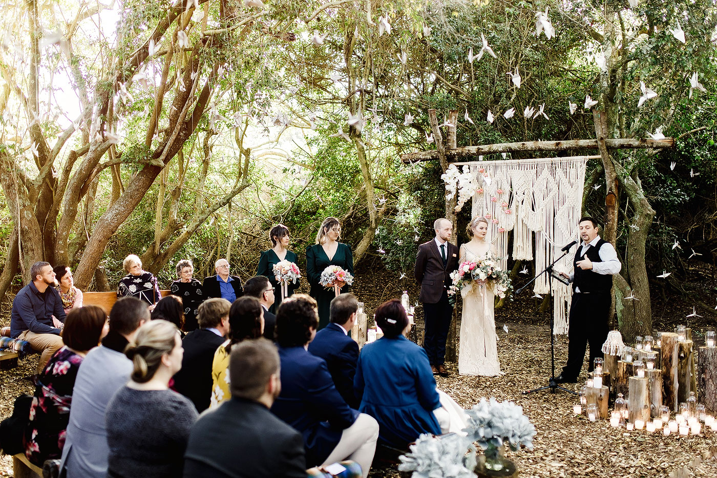 Forest Wedding Ceremony in Plettenberg Bay