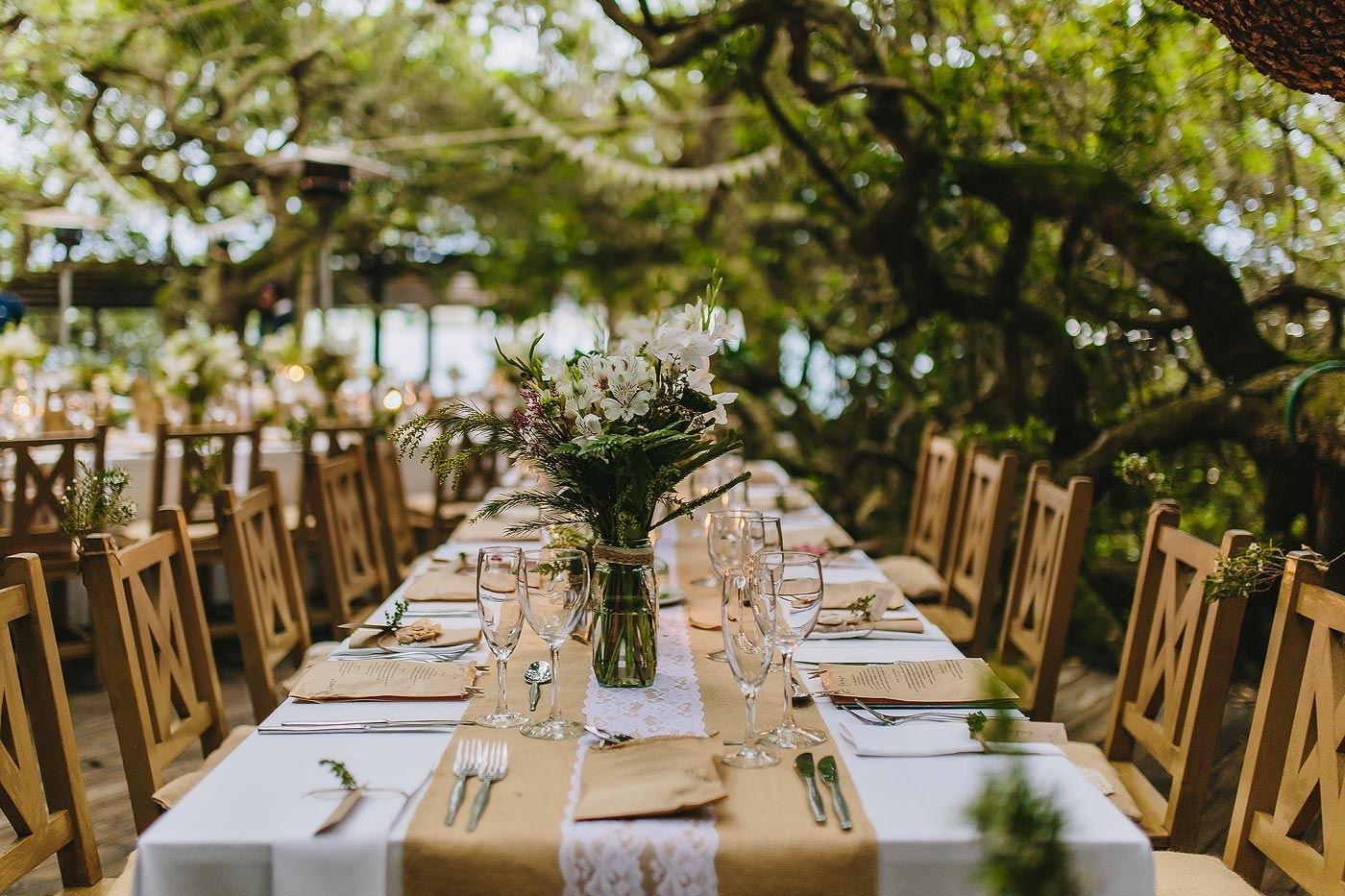 Forest Wedding Floral Decor