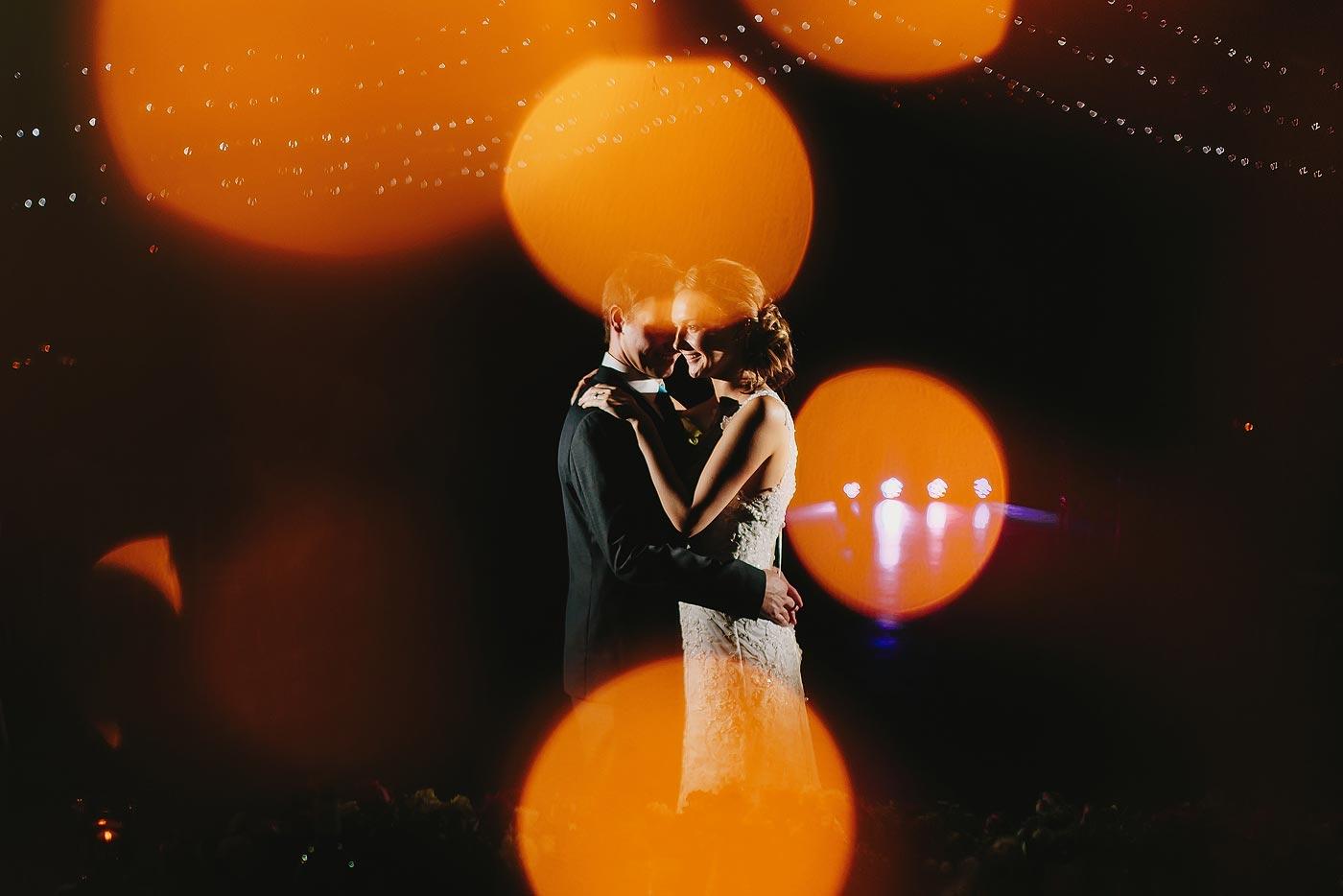 Creative Wedding First Dance Photo