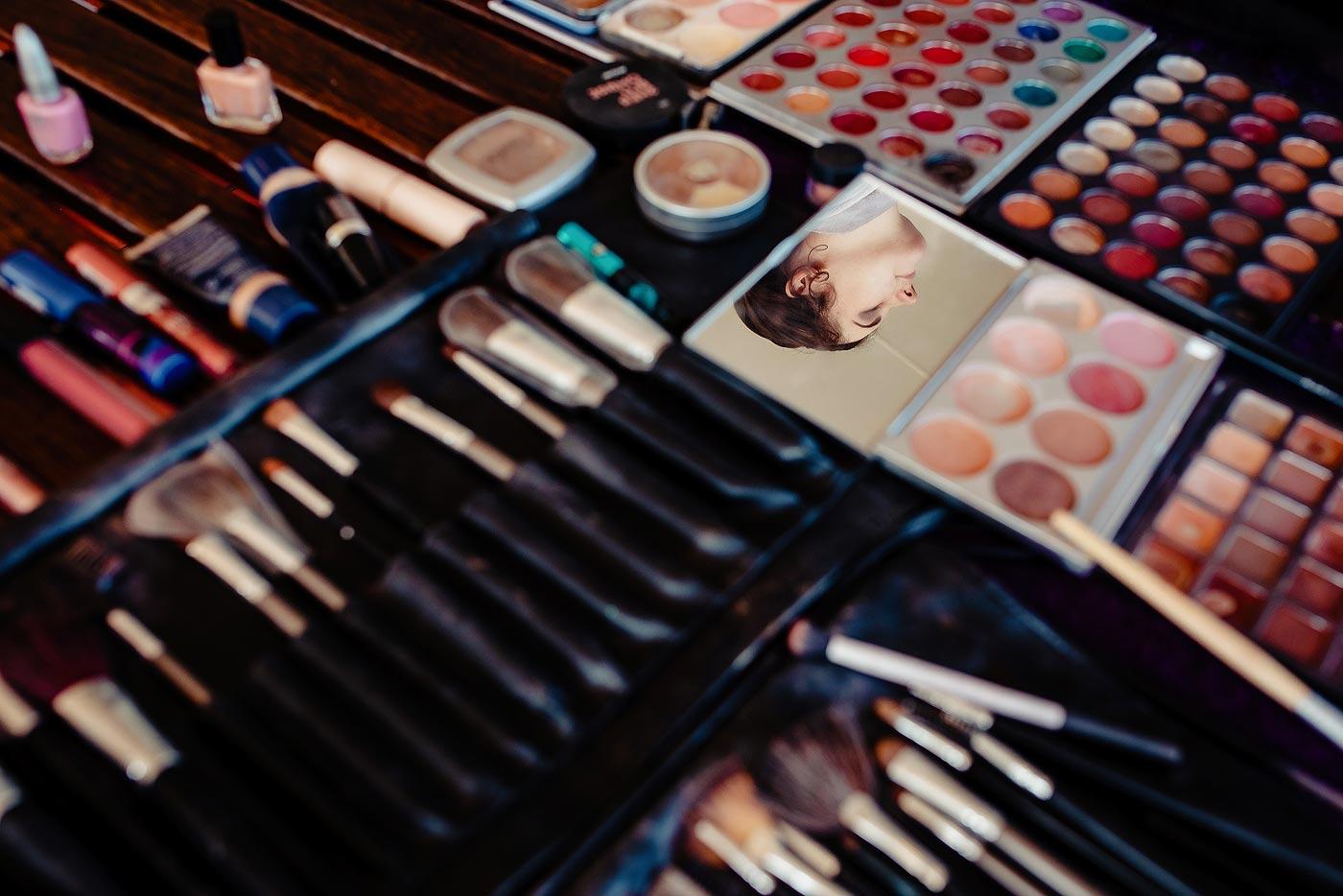 Copy of Bridal Make-up creative Moment Photo