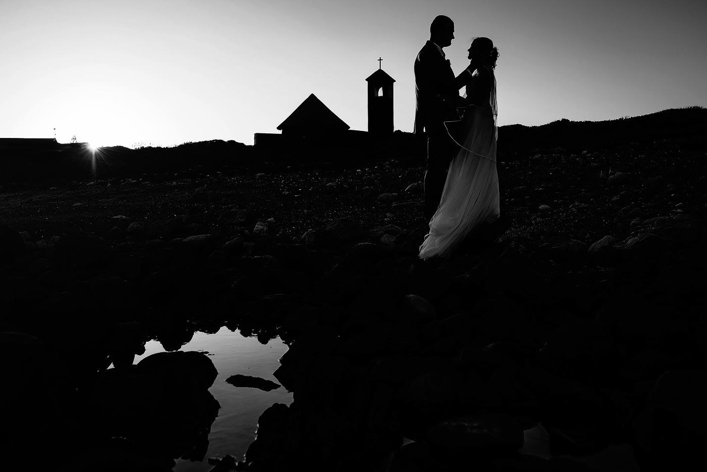 Copy of Creative Wedding Couple Photo of Bride and Groom.