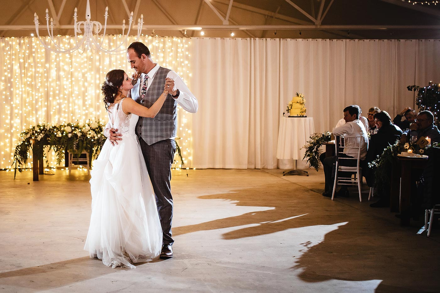 Copy of Wedding First Dance at venue in the Garden Route.