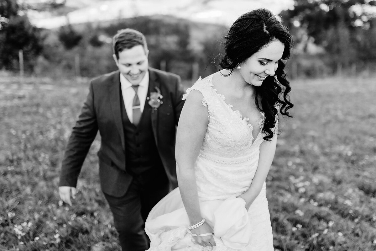 A moment with the bride and groom during their portrait hsoot in Waboomskraal South AFrica.