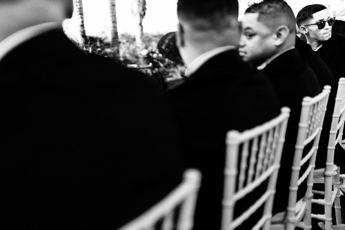 Groomsmen wedding moment at Northern Cape Wedding.