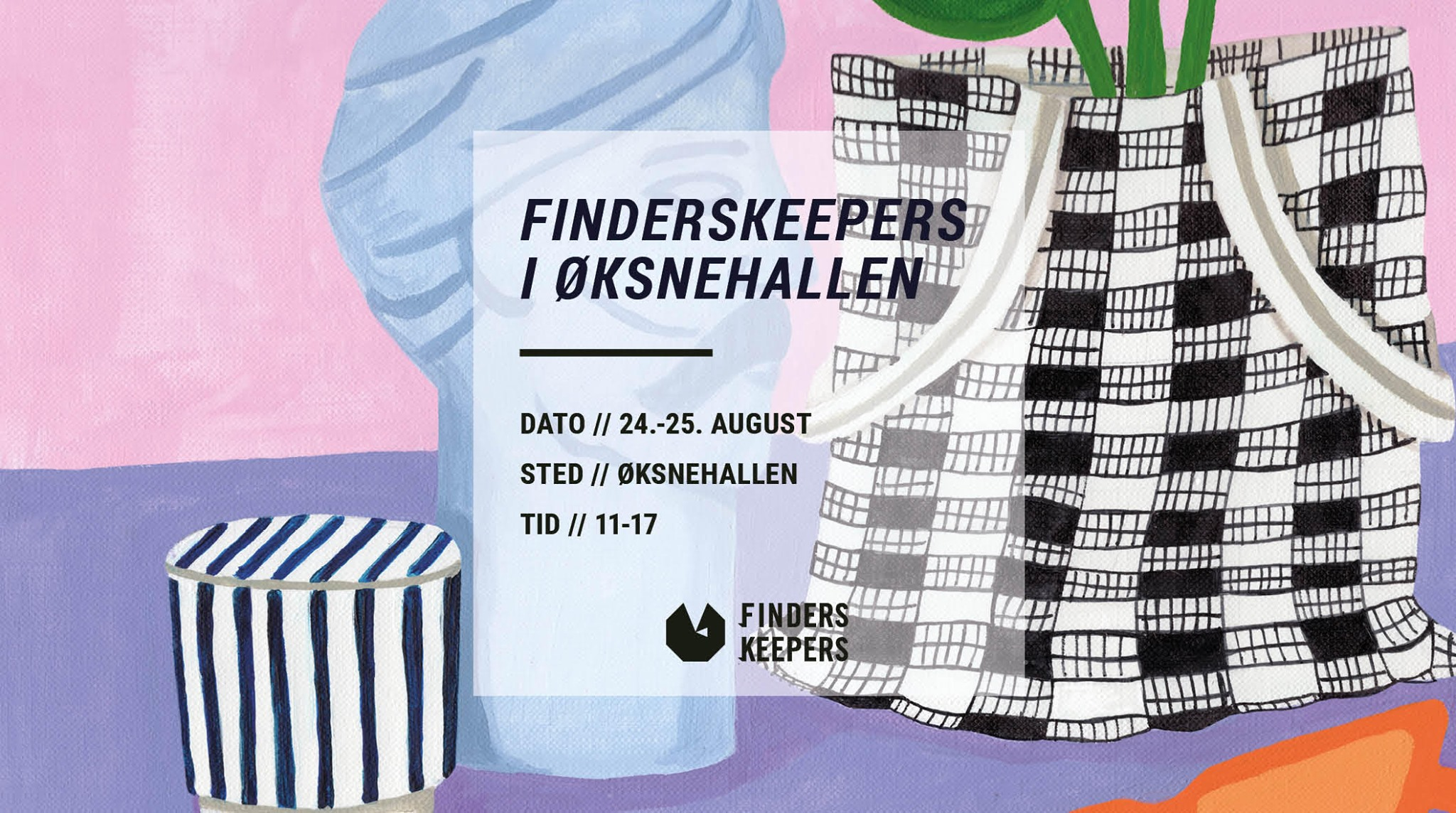 Save the Date! August 24-25th from 11:00-17:00 appearing in 'Finders Keepers' design market. Location: Øksnehallen, Copenhagen. Time: 11:00-17:00  🗺    https://finderskeepers.dk/designer/elasticities-2/