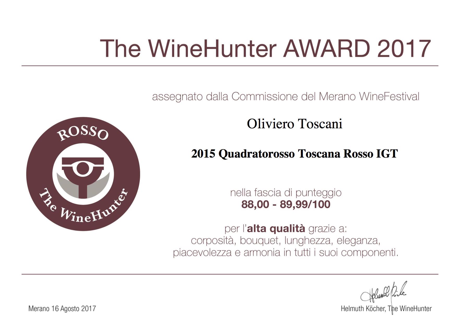 The WineHunter Award  Rosso-1305170817.jpg