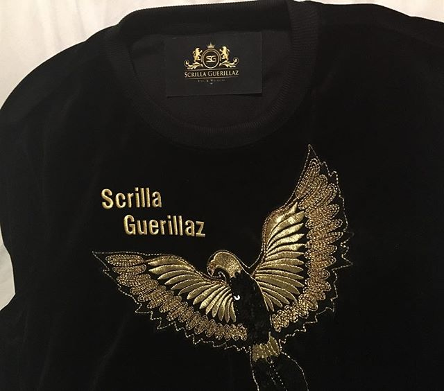 Scrilla Guerillaz attire on deck for those Kings and Queens that grind for the Scrilla in style. Available in Grey, White, Red, and Black. #scrillaguerillaz