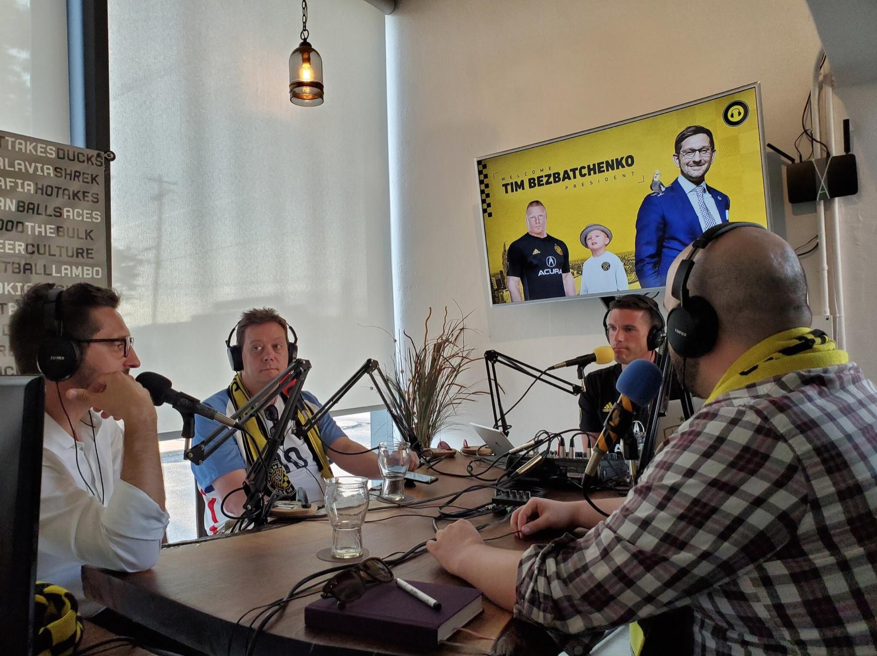 Interviewing Tim Bezbatchenko on Episode 124 of the Trash Pocket