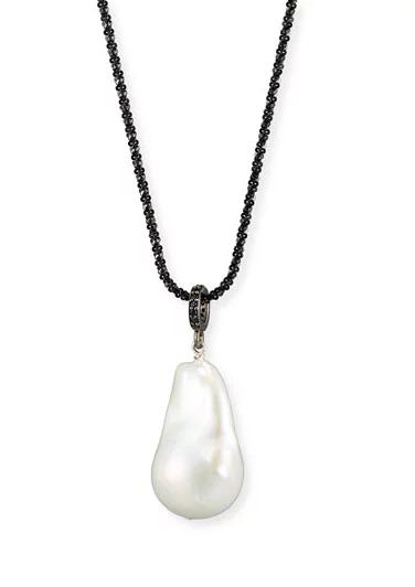 Margo Morrison Pearl Drop Necklace