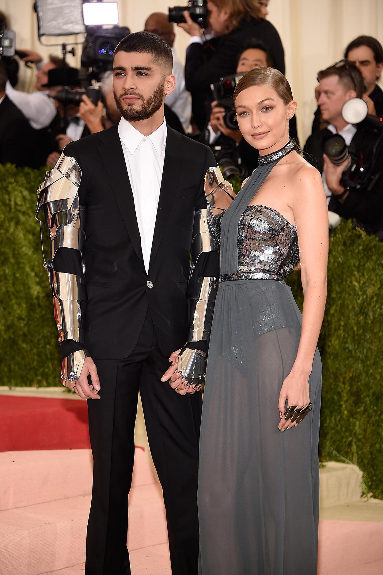 Zayn Malik and Gigi Hadid Met gala