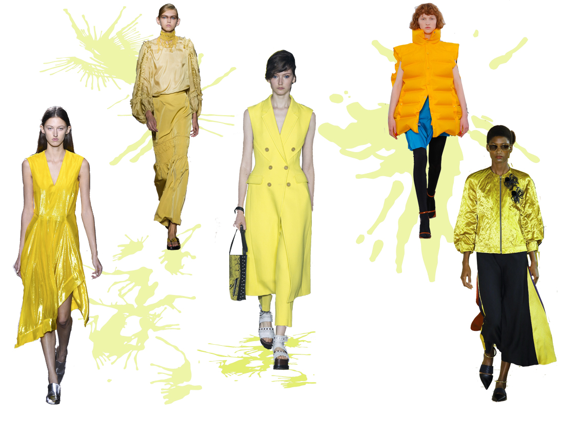 Yellow Spring 2017 Trend