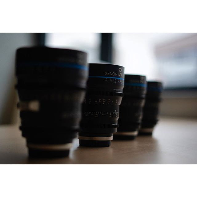 Welcome our new cine boys 👌📽 @schneideroptics FF-Prime Xenon in da house 🤙 #schneider #lens #xenon #fullframe #vistavision #cinelens #schneiderkreuznach #schneiderkreuznachlens #ffprime #mgfilm #newboys #boys #new #equipment #glass #precision #quality #50mm #tstop