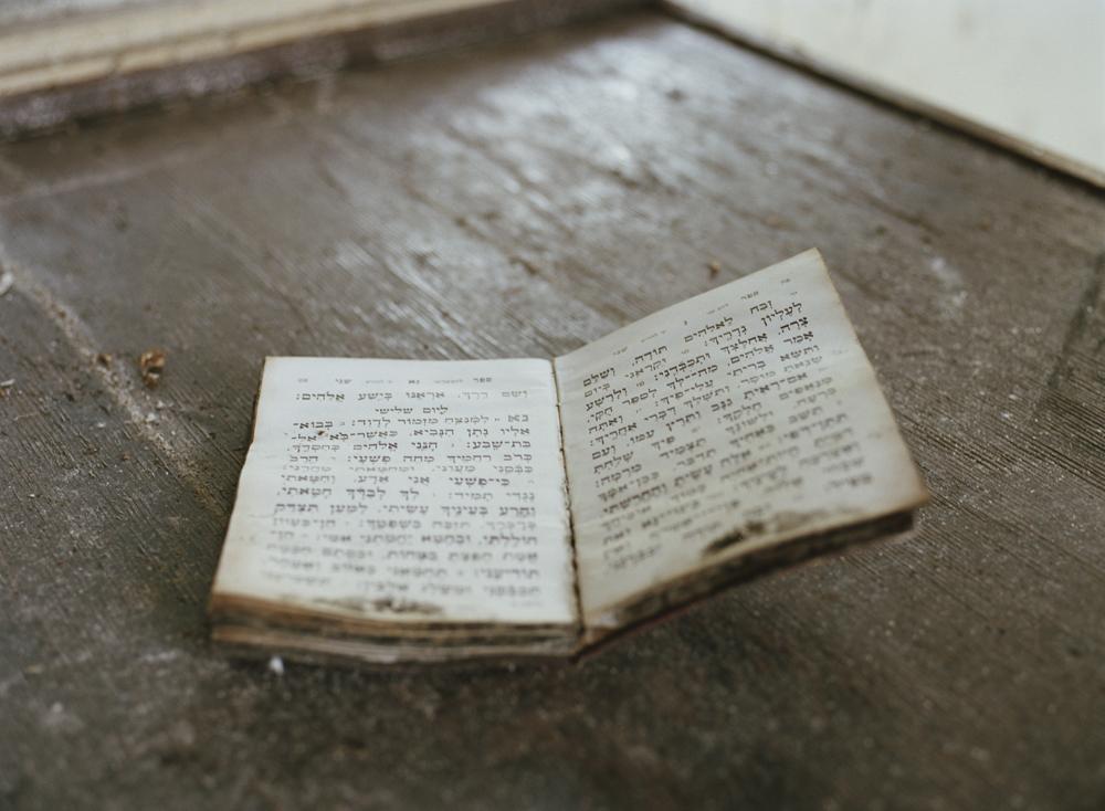 Prayer Book, Homowack Lodge, Spring Glen, NY, Chromogenic Print
