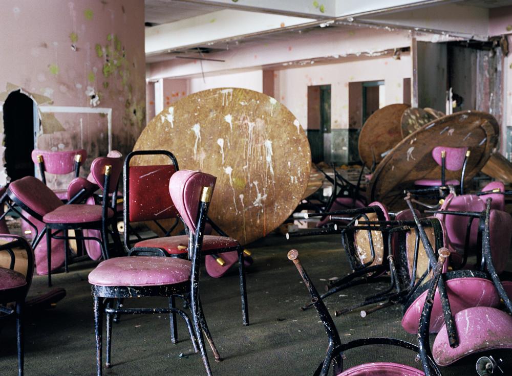 Dining Room, Pines Hotel, South Fallsburg, NY, Chromogenic Print