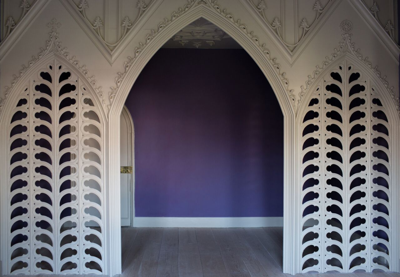The Holbein Chamber at Strawberry Hill House