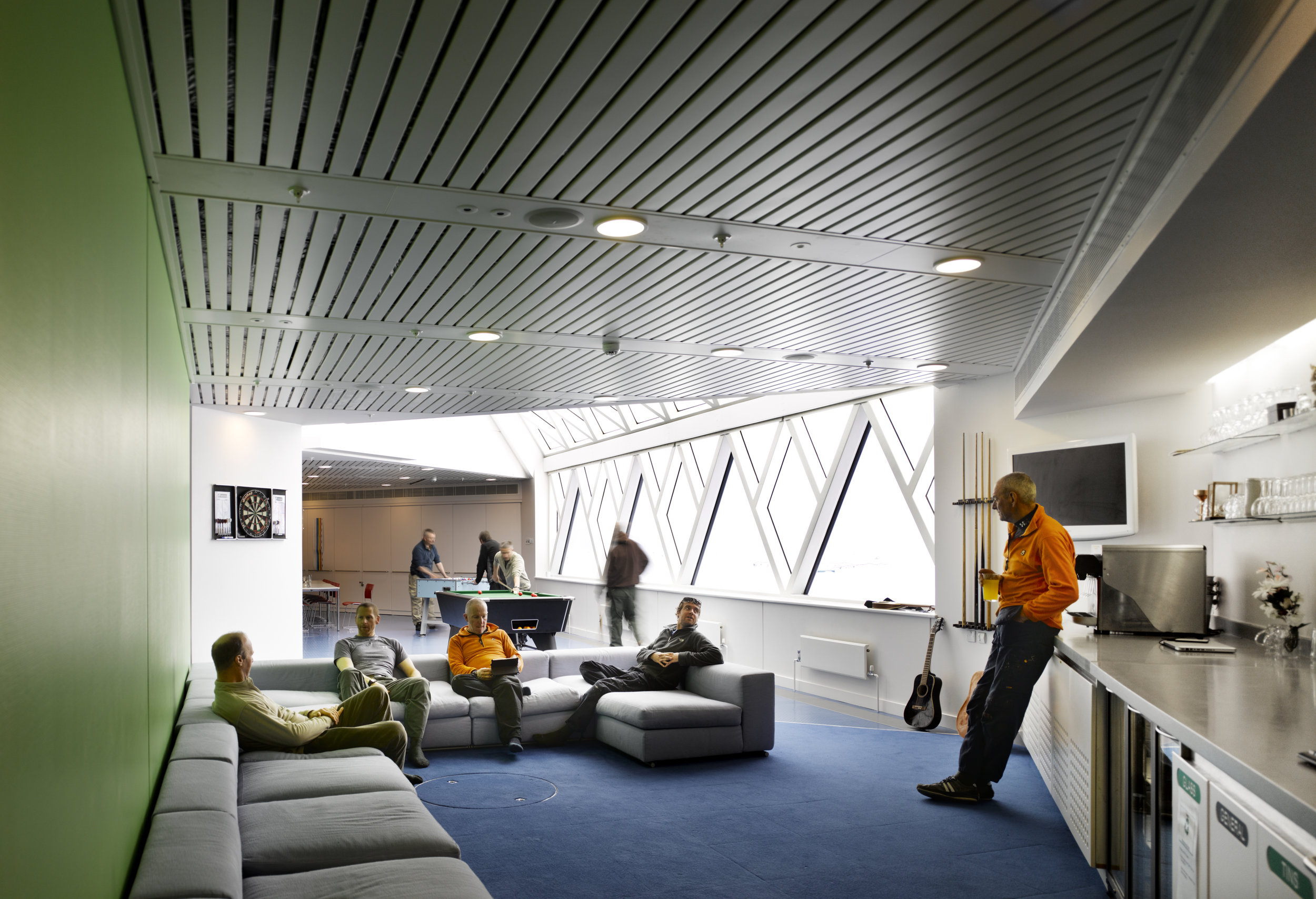 Photo credit: Interior of The Halley VI Polar Research Station by James Morris