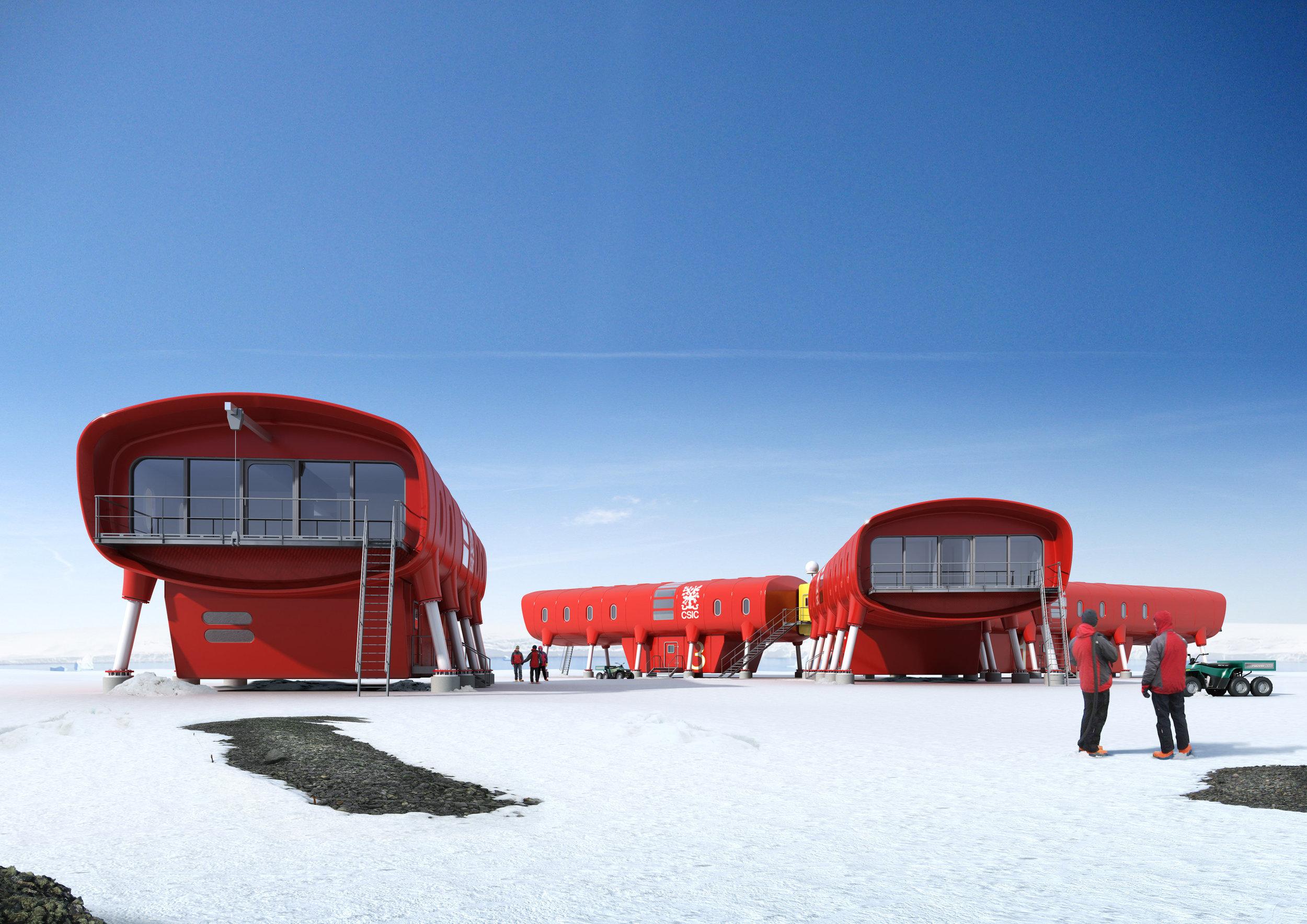 Photo credit: Spain's Juan Carlos 1 Antarctic Research Station by Consejo Superior de Investigaciones Científicas