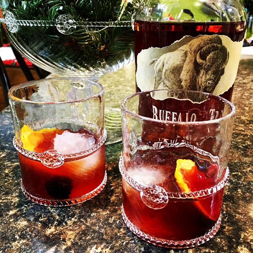 Old Fashioneds in Juliska's Graham Rocks Glasses - Yum!