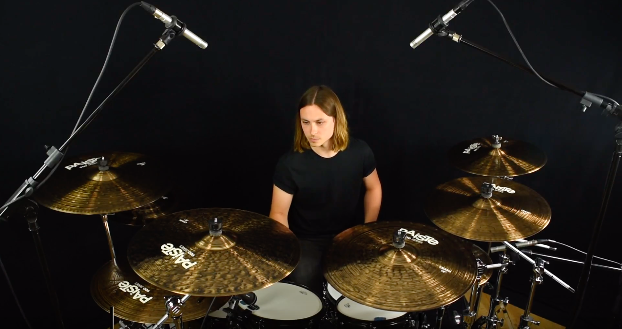 PAISTE VIDEO SHOOT - In June 2017 I was asked to do four short demonstration videos for Paiste UK for their new line of 900 Series cymbals. You can read the full review about this project on my News page and for the finished videos click on this photo!