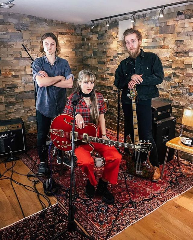 One from last week's session playing with @tallyspear and @alex_plays_guitar at @copperbrownuk #studio. #Content 🔜  Also keep an eye out for Tally's new #musicvideo this Friday #CityGirl #NewMusic ——————————————————————————————————————————- #drummer #drums #music #guitarist #tanglewood #copperbrown #studiosession #livemusic #londonartist #marshallamps #redguitar