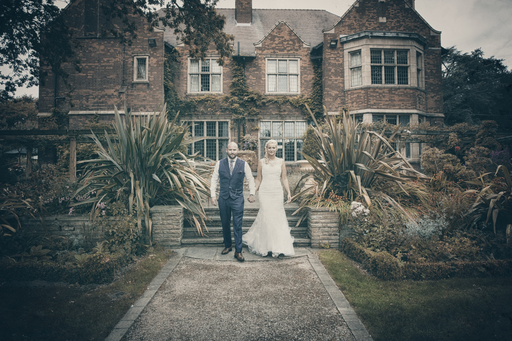 Wayne Hudson Photography, Lucria Creative, Cornwall and Devon wedding photographer based in Launceston, Mark and Lizzie at Moxhull hall