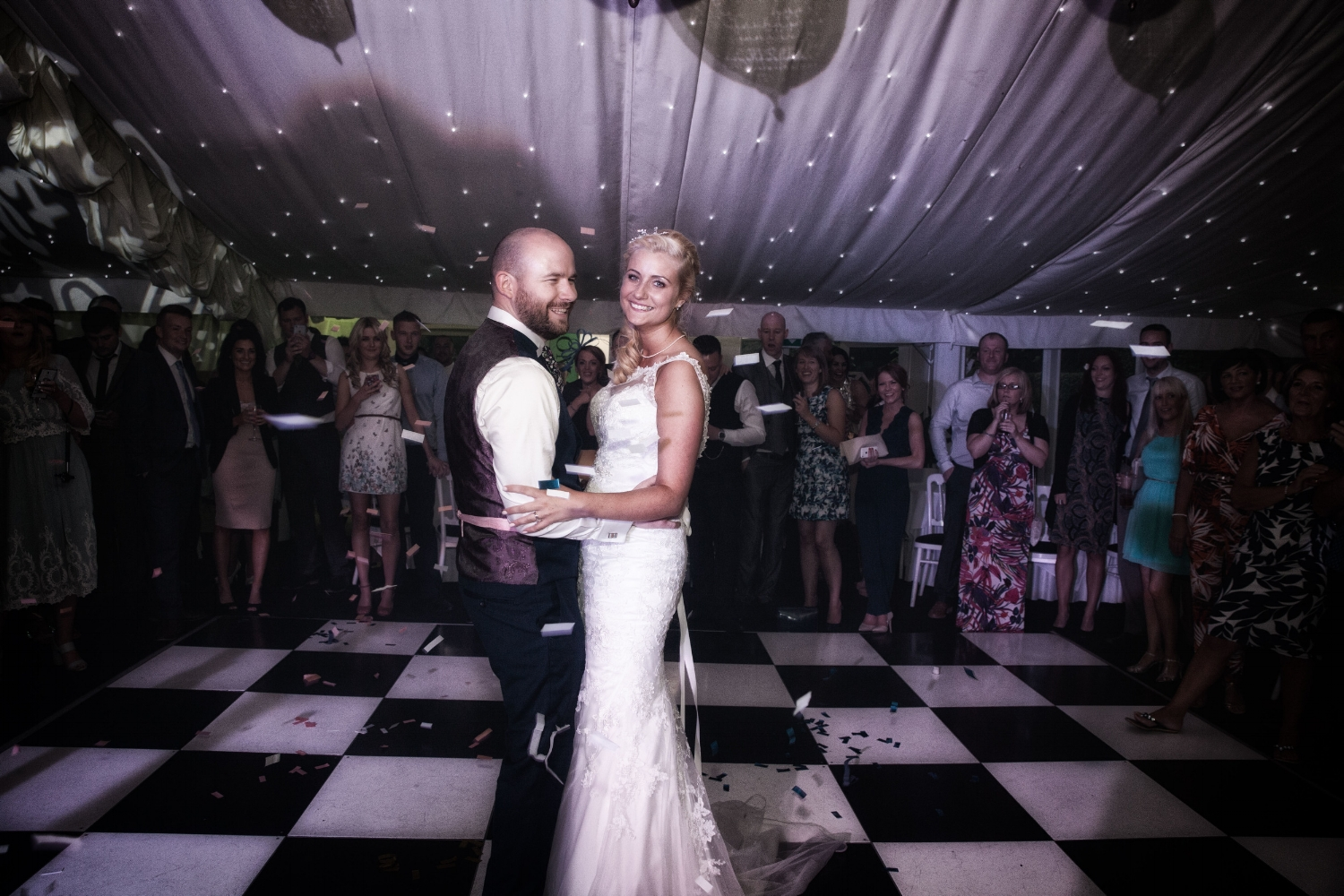 Moxhull Hall, Sutton Coldfield, Mark and Lizzie, Elizabeth, O'Donnel, Lucria Creative, Wayne Hudson,  Wedding, bride, groom, photography, coventry, first dance