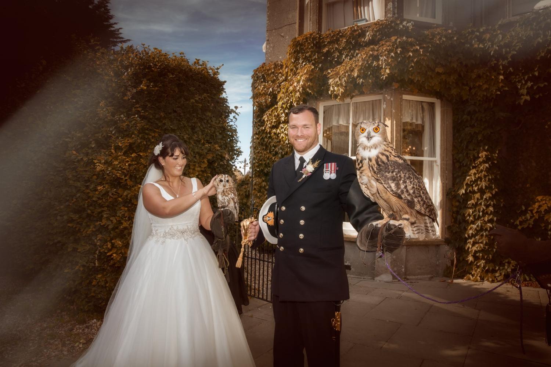 Wayne Hudson Photography, Lucria Creative, Cornwall and Devon wedding photographer based in Launceston / Owls