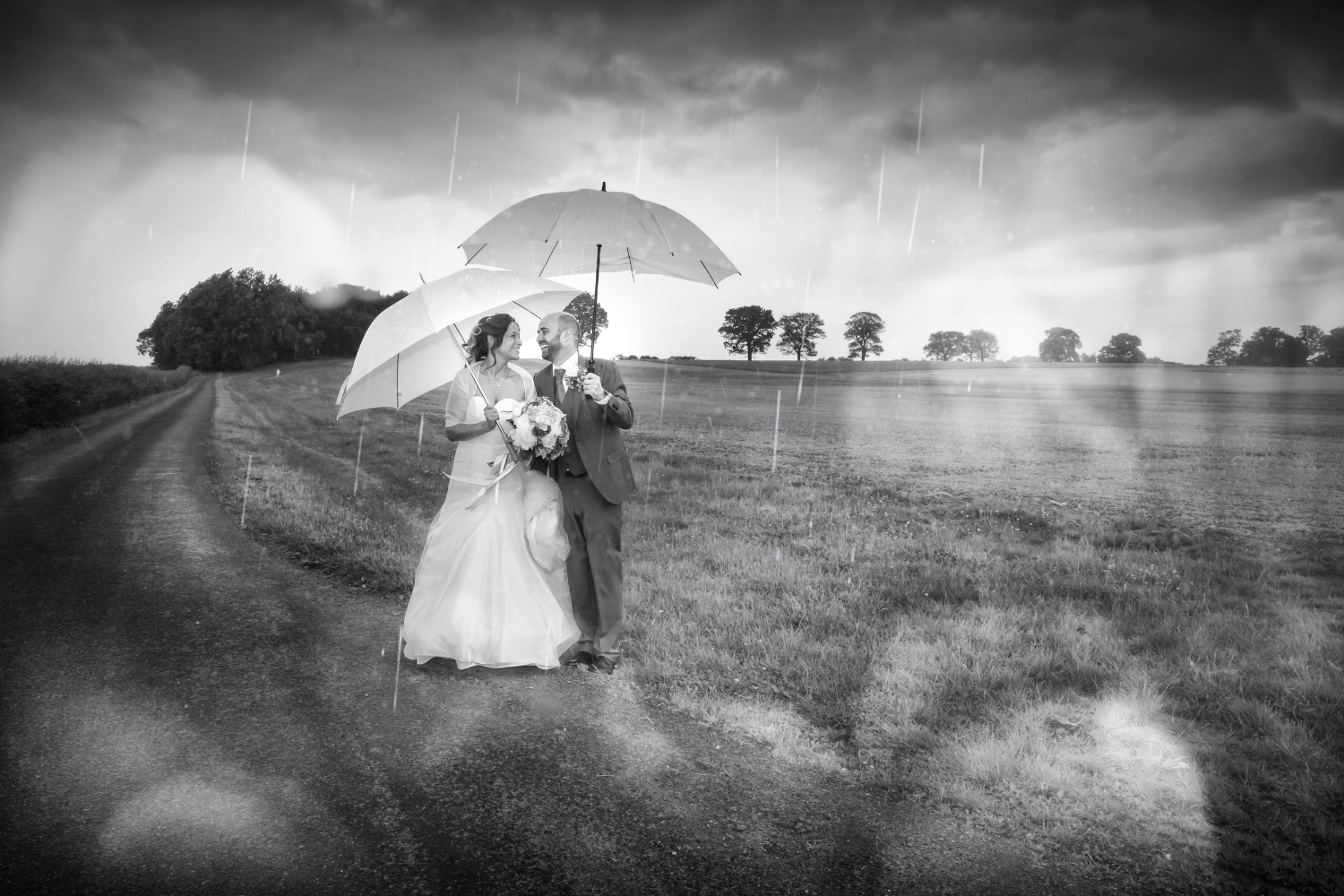 Wayne Hudson Photography, Lucria Creative, Cornwall and Devon wedding photographer based in Launceston, Rain on your wedding day